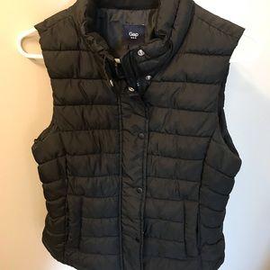 Gap Puffer Vest Black Size Small